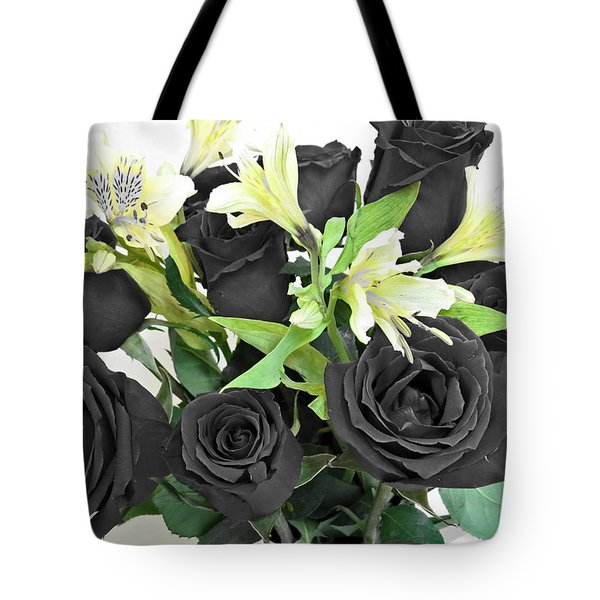 Tote Bag featuring the photograph Roses Of A Different Color by Ella Kaye Dickey