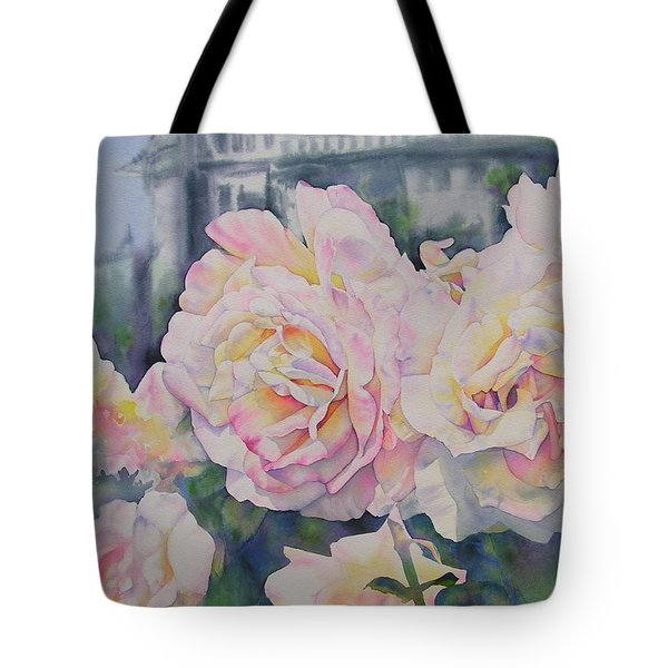 Roses Of Notre Dame Two Tote Bag