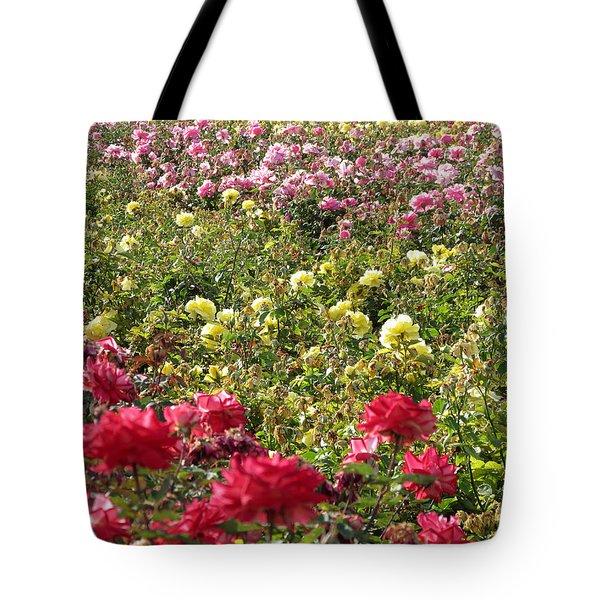 Roses Roses Roses Tote Bag by Laurel Powell