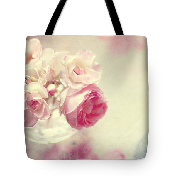 Roses Tote Bag by Sylvia Cook