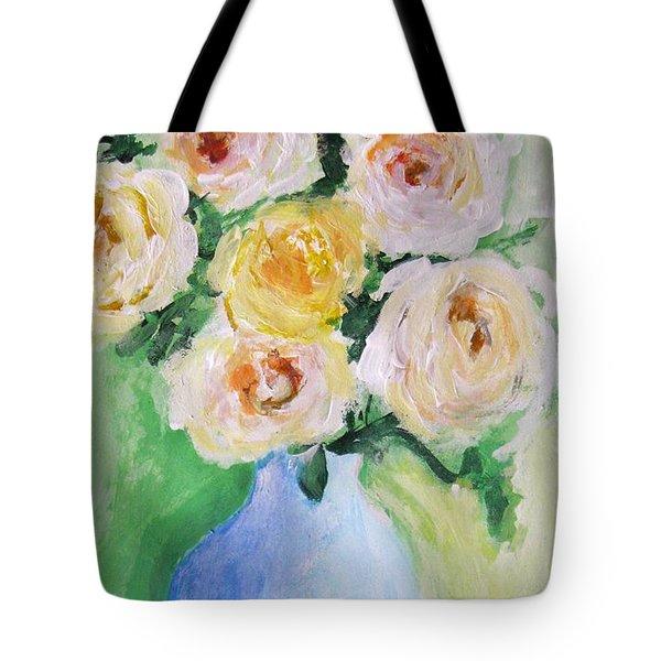 Roses Tote Bag by Venus