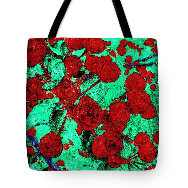 The Red Roses Tote Bag