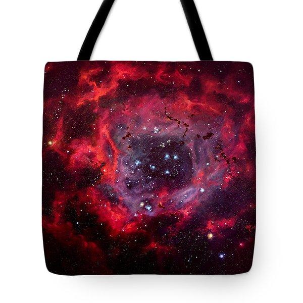 Rosetta Nebula Tote Bag by Marie Green