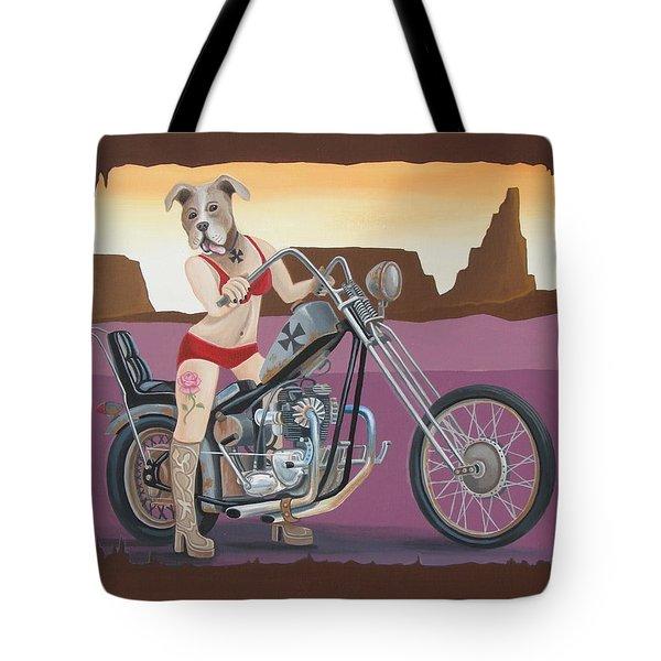 Rosie's Chopper Tote Bag