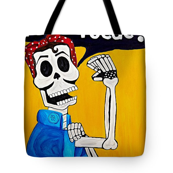 Rosita Tote Bag by Stephanie Castro Tuitele