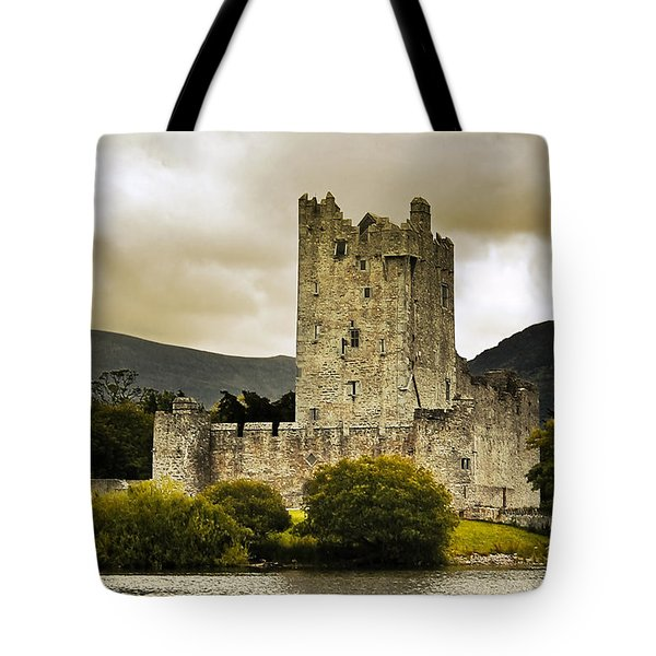 Tote Bag featuring the photograph Ross Castle Killarney by Jane McIlroy