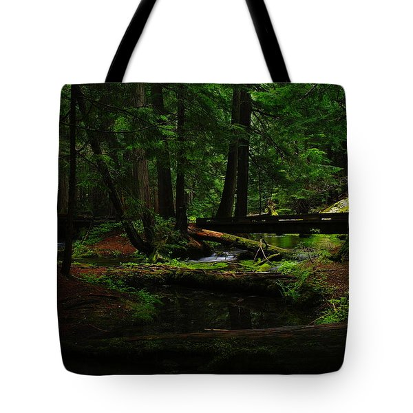 Ross Creek Montana Tote Bag by Jeff Swan