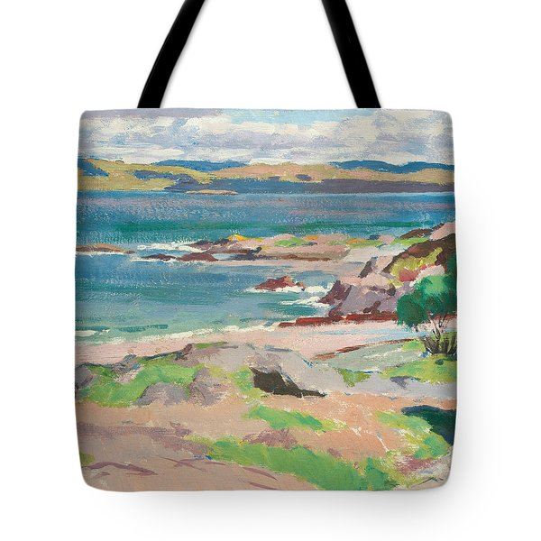 Ross Of Mull From Traigh Mhor Tote Bag