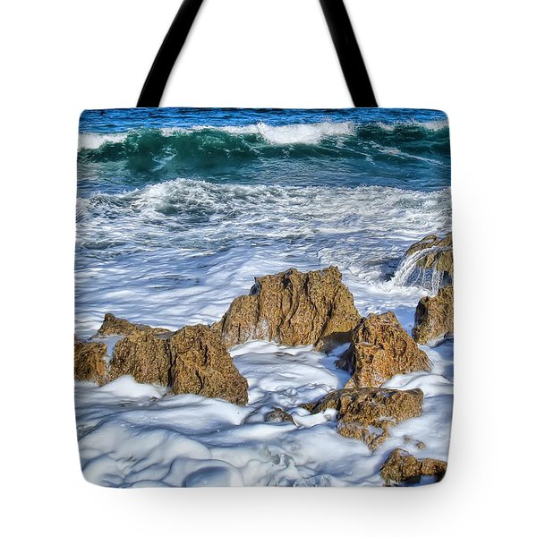 Tote Bag featuring the photograph Ross Witham Beach Stuart Florida by Olga Hamilton