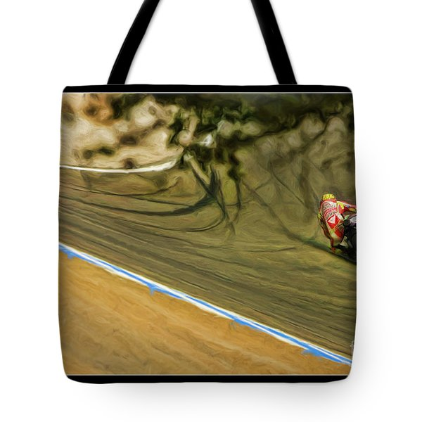 Rossi Though The Trees  Tote Bag