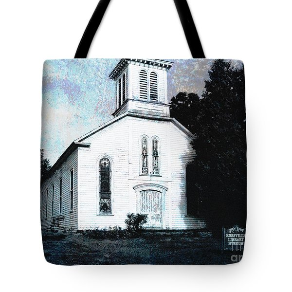 Rossville Church And Cemetery Tote Bag
