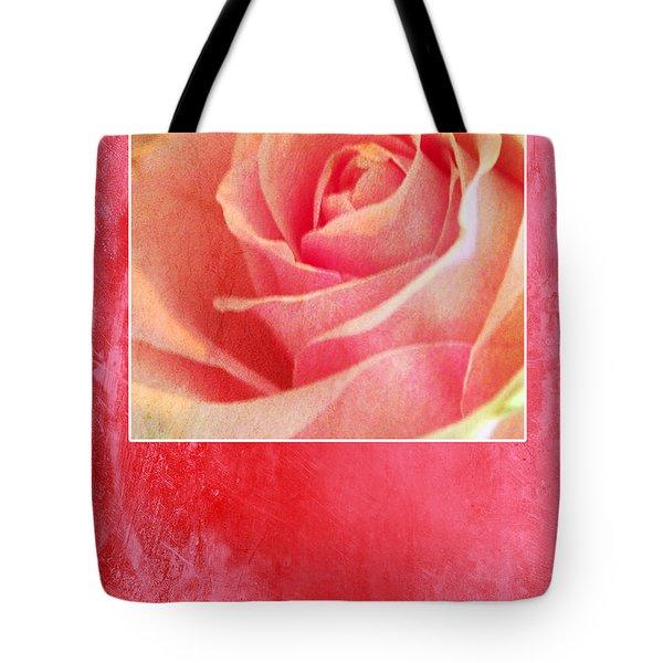 Rosy Tote Bag by Randi Grace Nilsberg