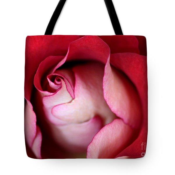 Rosy Rose Tote Bag by Sabrina L Ryan
