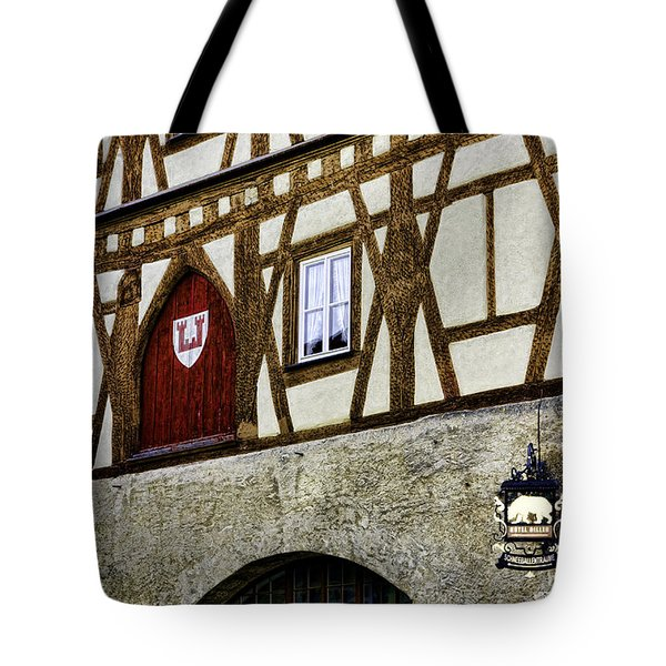 Rothenburg Geometry Tote Bag by Joanna Madloch