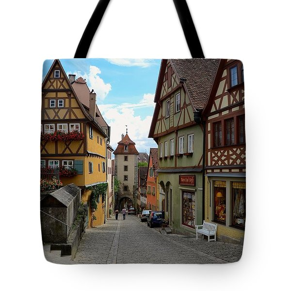 Rothenburg Ob Der Tauber Tote Bag