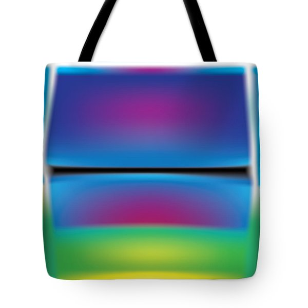 Rothko Blue Yellow Tote Bag