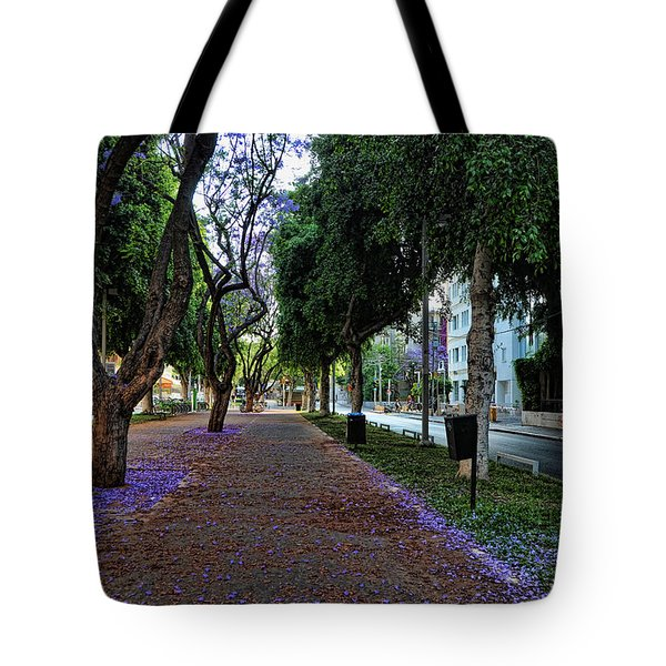 Rothschild Boulevard Tote Bag