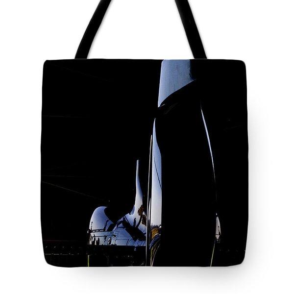 Rotor Tail  Tote Bag by Paul Job
