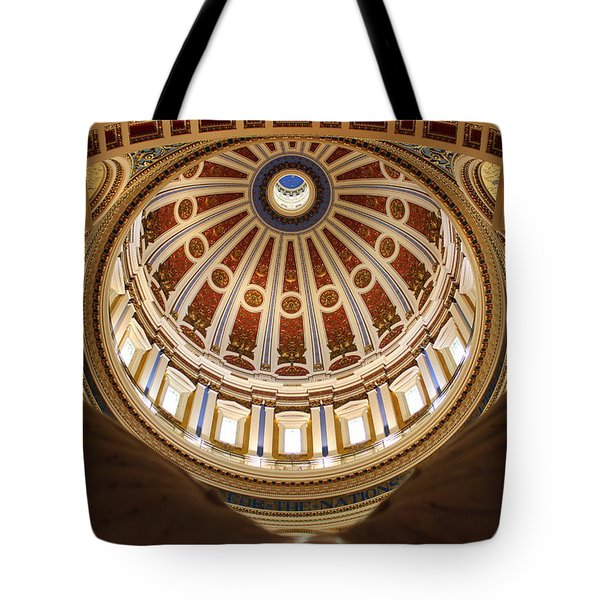 Rotunda Dome On Wings Tote Bag by Joseph Skompski