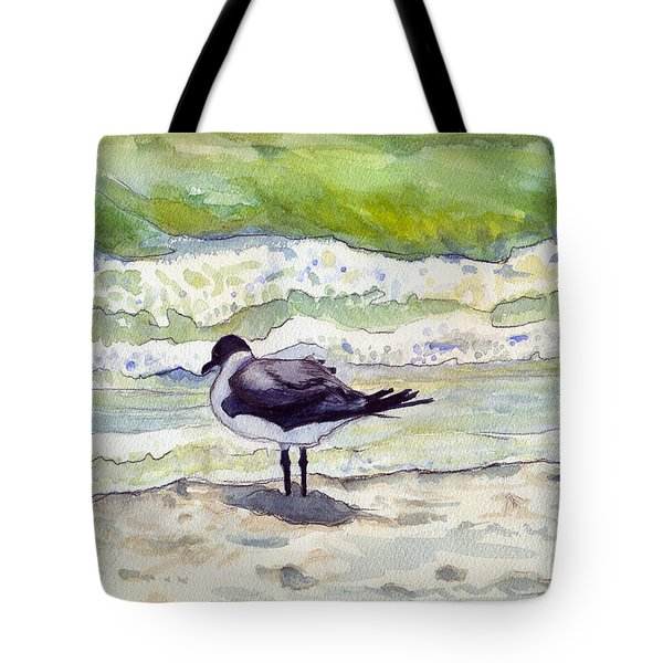 Rough Waters Ahead Tote Bag