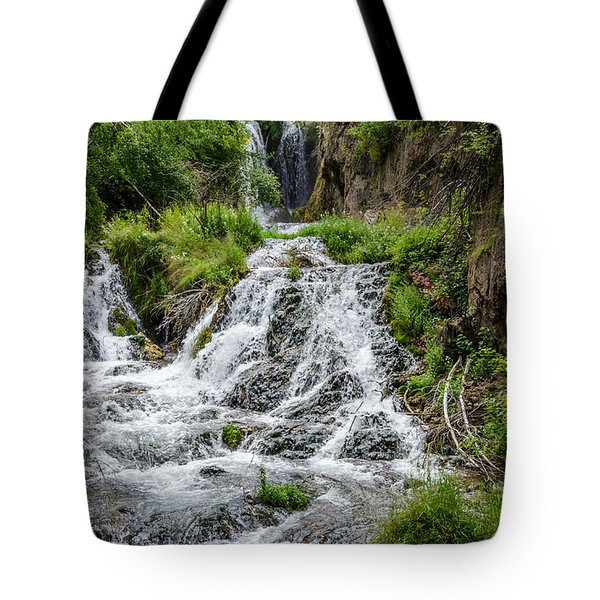 Roughlock Falls South Dakota Tote Bag