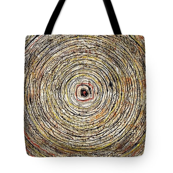 Round And Around Tote Bag by Carla Sa Fernandes