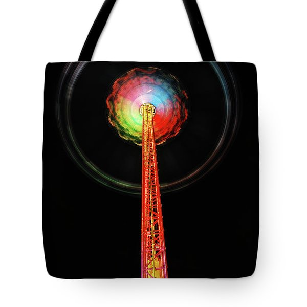 Round And Round  Tote Bag by Hannes Cmarits