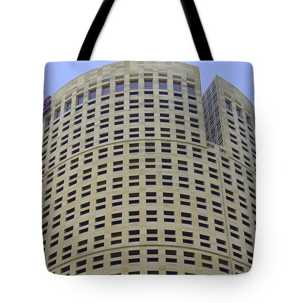 Round Architecture Tote Bag