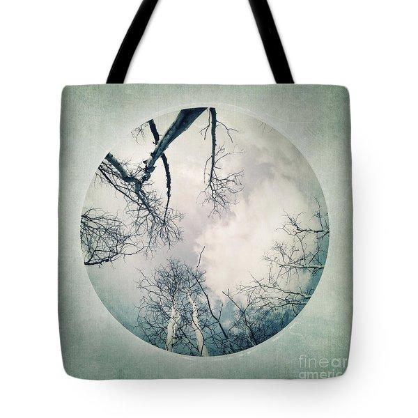round treetops I Tote Bag by Priska Wettstein