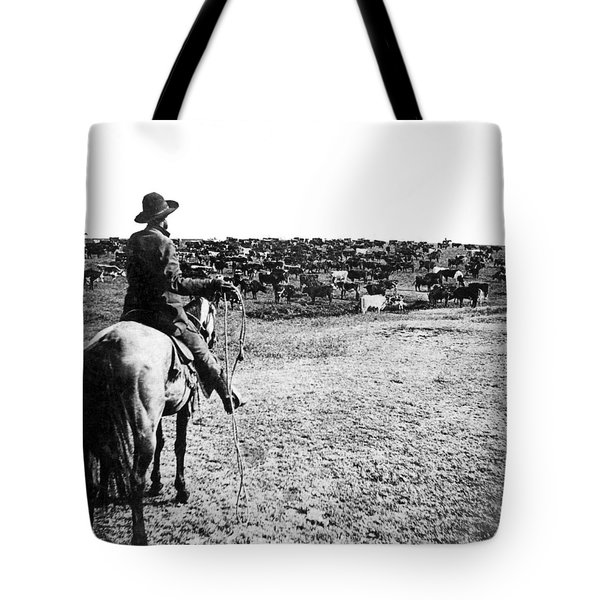 Round-up Time In Kansas Tote Bag