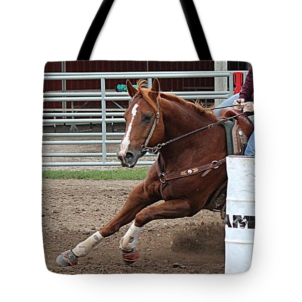 Rounding Third Tote Bag