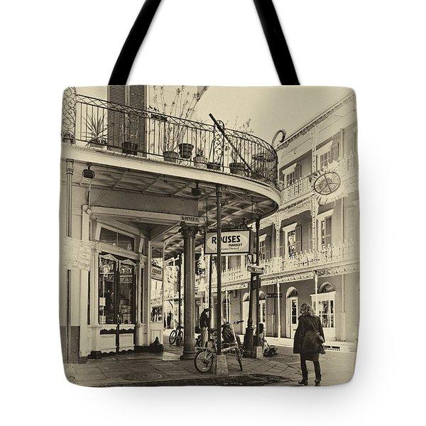 Rouses Market Sepia Tote Bag by Steve Harrington