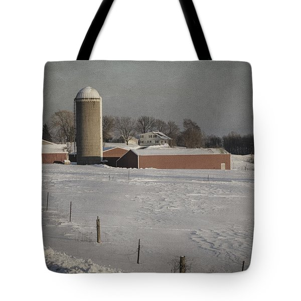 Route 45 Barn Tote Bag by Joan Carroll