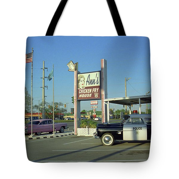 Route 66 - Anns Chicken Fry House Tote Bag