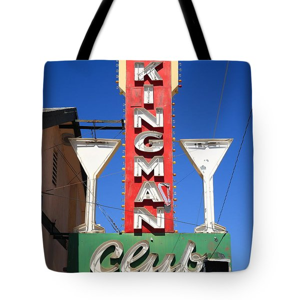 Route 66 - Kingman Club Tote Bag