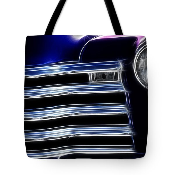 Route 66 Well Grilled Tote Bag by Bob Christopher