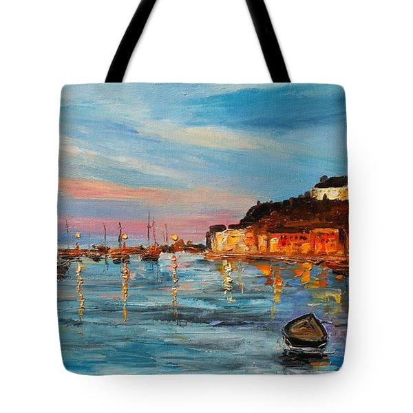 Rovanij Harbour Tote Bag