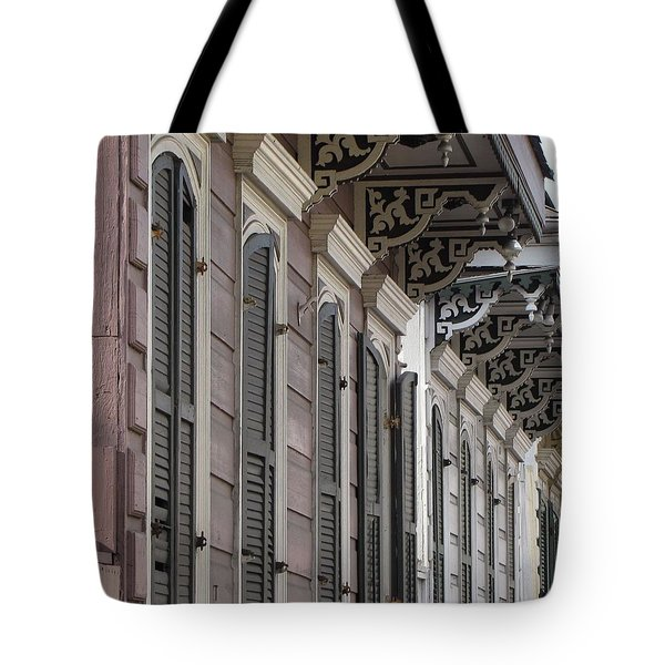 Row Of Houses Tote Bag
