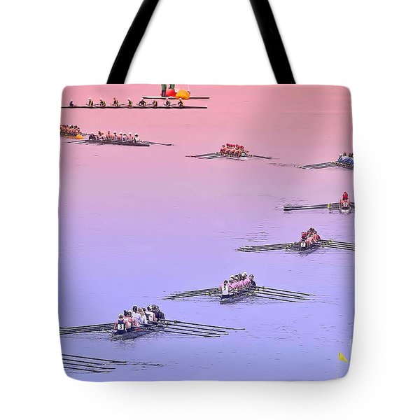 Rowers Arc Tote Bag