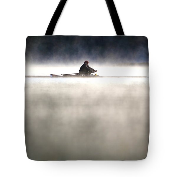 Rowing Tote Bag by Mitch Cat