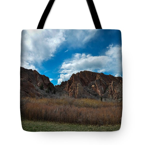 Roxborough Cragginess Tote Bag