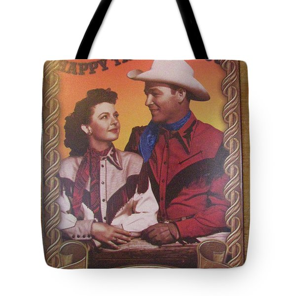 Roy And Dale Tote Bag