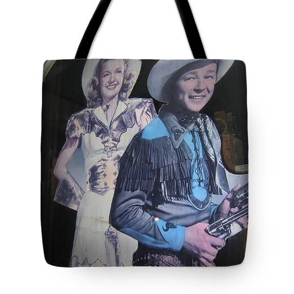Roy Rogers And Dale Evans #2 Cut-outs Tombstone Arizona 2004 Tote Bag