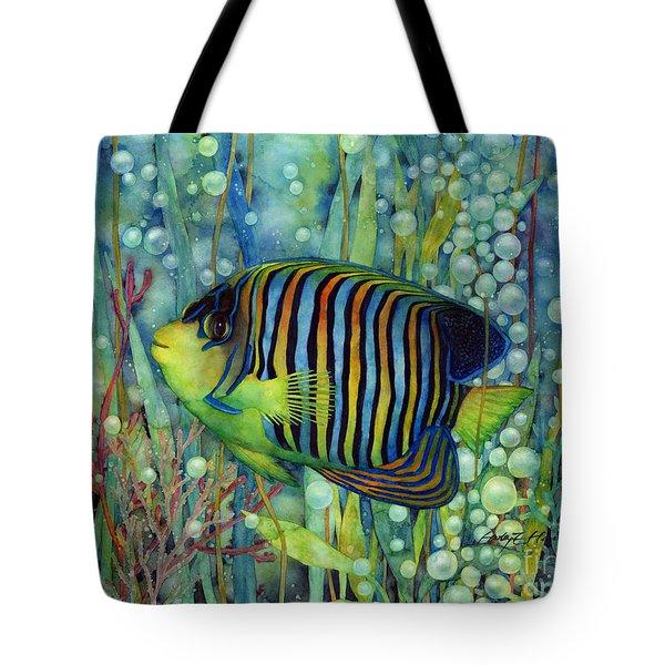Royal Angelfish Tote Bag