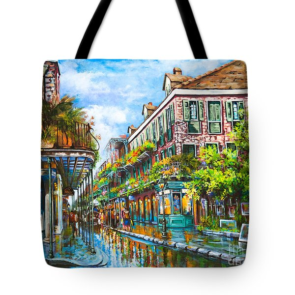 Royal At Pere Antoine Alley, New Orleans French Quarter Tote Bag