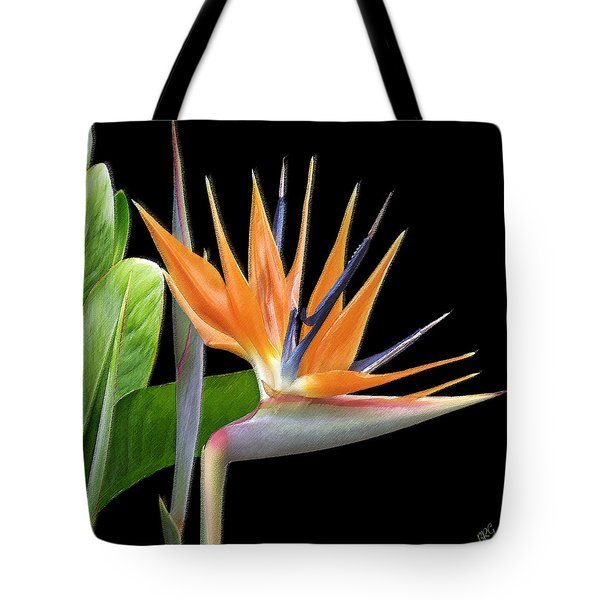Royal Beauty I - Bird Of Paradise Tote Bag by Ben and Raisa Gertsberg