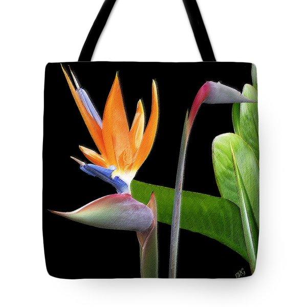 Royal Beauty II - Bird Of Paradise Tote Bag by Ben and Raisa Gertsberg