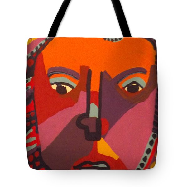 Tote Bag featuring the painting Royal Buddha by Don Koester