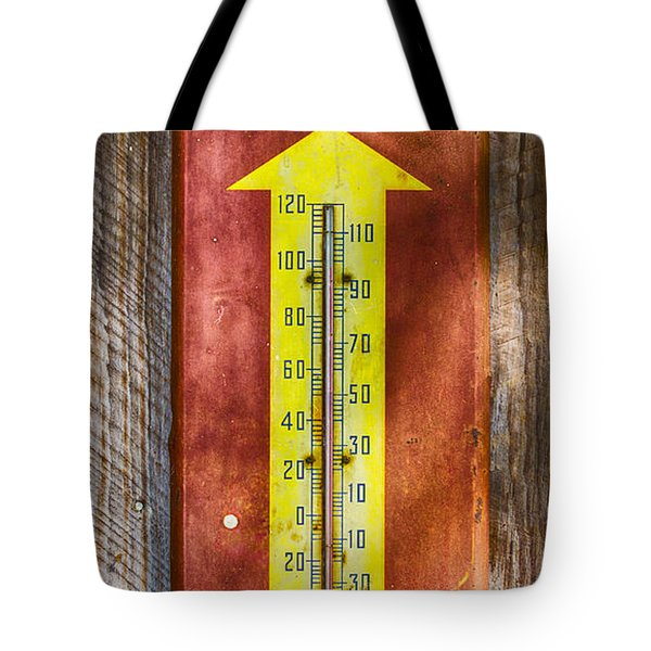 Royal Crown Barn Thermometer Tote Bag