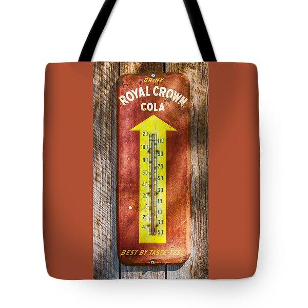 Royal Crown Barn Thermometer Tote Bag